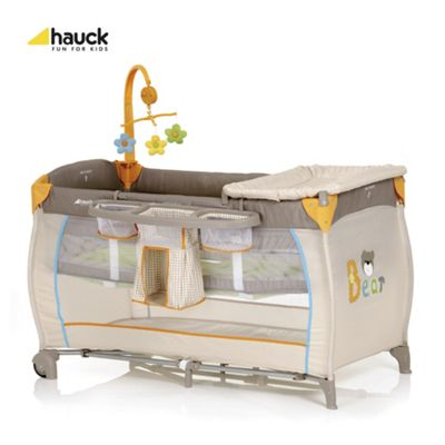 Hauck Babycentre Travel Cot, Bear
