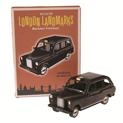 Make Your Own London Landmark-London Taxi Cab