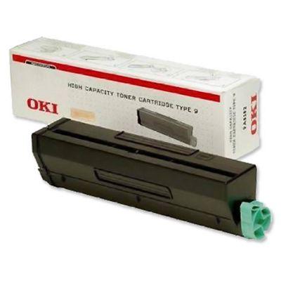 OKI Type 9 High Capacity Toner Cartridge for B4300/4350 Printers (Black)