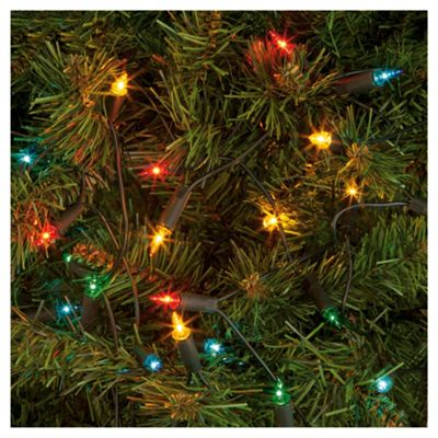 Buy Tesco 100 Coloured Christmas Fairy Lights From Our All
