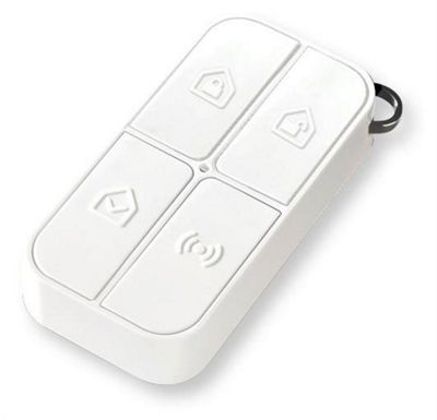 iSmart Alarm Remote Tag Press buttons White control
