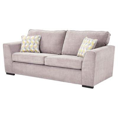 Boston Large 3 Seater Sofa, Pink