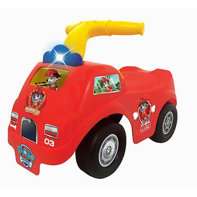 Paw Patrol Light n' Sound Rescue Marshall Fire Truck Ride-On