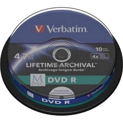 Verbatim DVD Recordable Media - DVD-R, 10 Pack