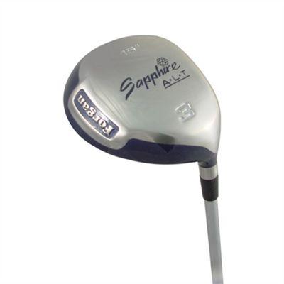 Forgan Ladies Golf Club Sapphire Anti-Slice 3 Woods Graphite Shaft