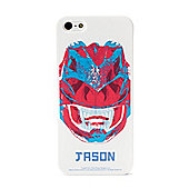 Power Rangers Movie Personalised iPhone 5/5s Case - Red Ranger