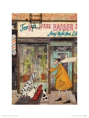 Sam Toft The Barber Shop Quartet Print 30 x 40cm