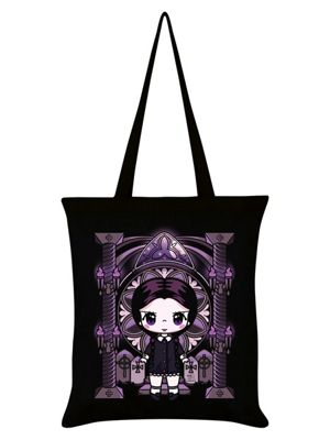 Mio Moon Miss Addams Black Tote Bag 38x42cm