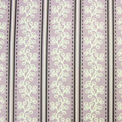 Rosehip Gift Wrap - Lilac Leaves and Stripes