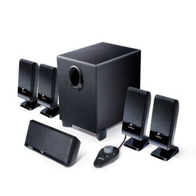 Buy Edifier M1550 5.1 Mini Home Theatre Speaker System (Black) from ...