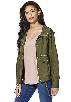 F&F Lightweight Shower Resistant Jacket - Khaki