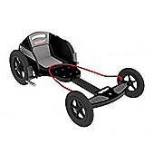 Kiddimoto BoxKart Wooden Go Kart for 5 years+ Black GT