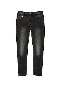 F&F Faded Skinny Jeans - Grey