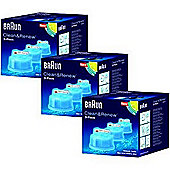 Braun BRNBUN003 Clean Refill Cartridges- 9 Pack