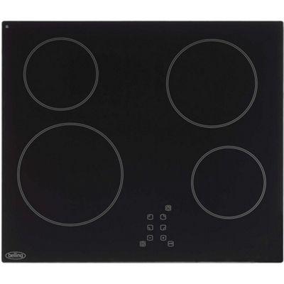 Belling CH60TX Touch Control 60cm Ceramic Hob Black