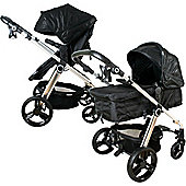 My Babiie MB150CRO 3 in 1 Pushchair (Croc Pram)