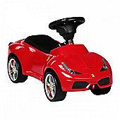 Ferrari 458 Push Along Car - Red Ride On Car
