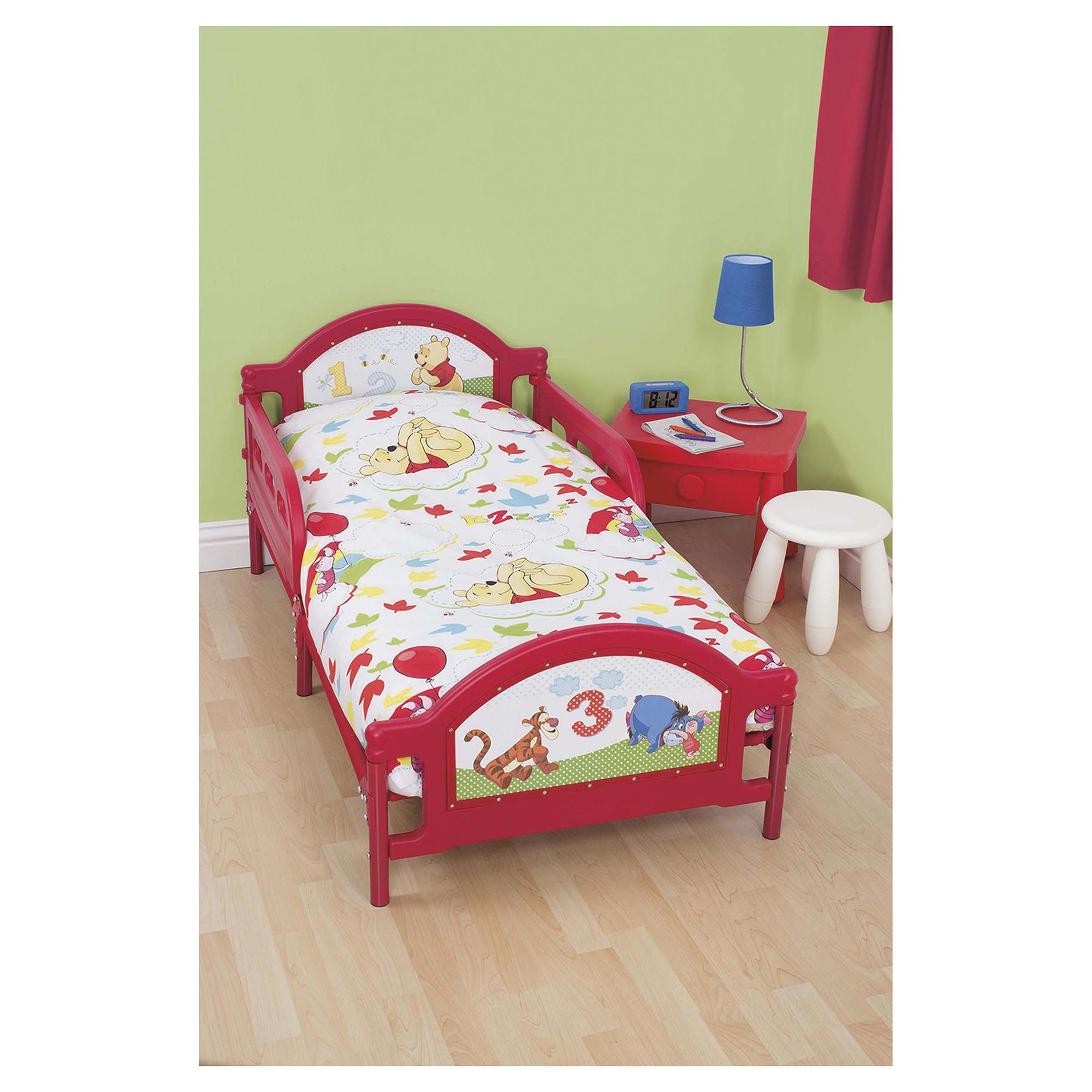 Winnie the pooh toddler bedding - Winnie The Pooh Toddler Bed In A Bag My