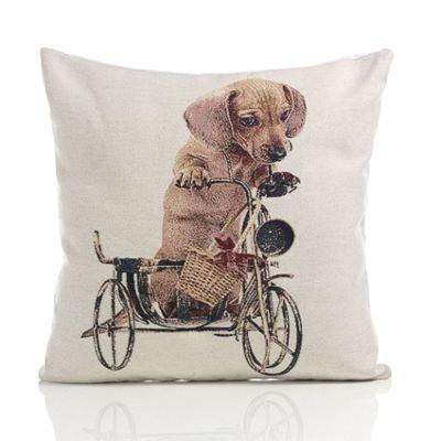 Alan Symonds Tapestry Daschund Cushion Cover - 45x45cm