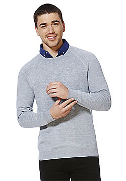 F&F Mock Shirt Layer Jumper - Grey