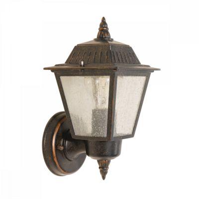 Weathered Bronze Wall Lantern - 1 x 60W E27
