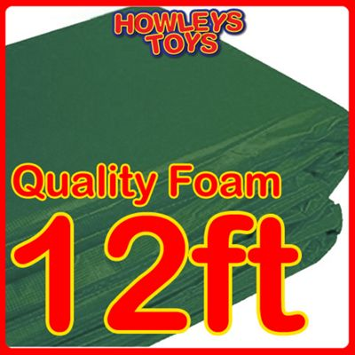 Green 12ft Replacement Trampoline Surround Pad