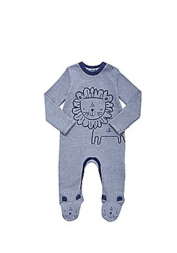 F&F Grindle Stripe Lion Print All in One - Navy