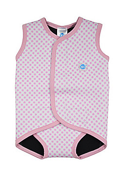 Splash About Baby Wrap - Pink Gingham - Pink