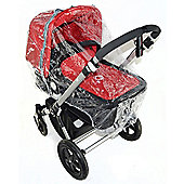Raincover Compatible With Bebecar Ip-Op Stylo Icon Grand Carrycot