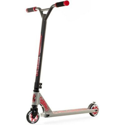 Slamm Urban XTRM II Stunt Scooter - Grey/Red