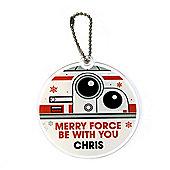Star Wars Personalised Christmas Tree Decoration BB8