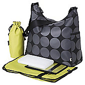 OiOi Changing Bag Charcoal Dot