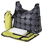 OiOi Changing Bag Charcoal Dot