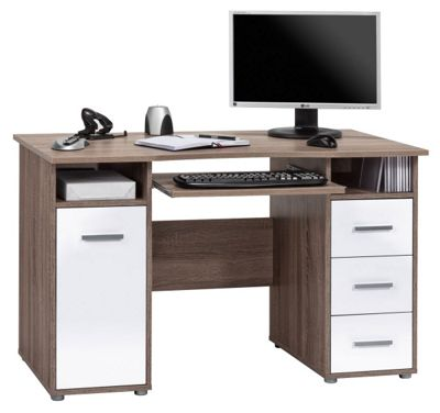 Maja Camden Truffle Oak Computer Desk