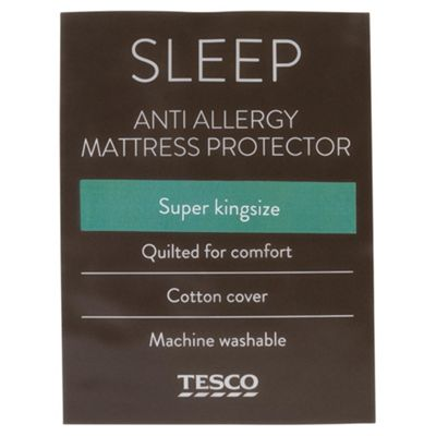 Anti Allergy Super King Matress Protector
