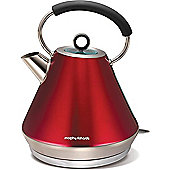 Morphy Richards 102204 Elipta Stainless Steel Pyramid Kettle - Red