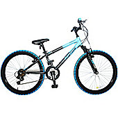 "Concept Riptide Boys Mountain Bike 24"" Wheel 18 Speed"
