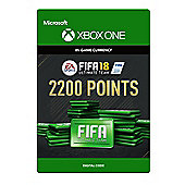 FIFA 18: Ultimate Team FIFA Points 2200 DIGITAL CARDS (Digital Download Code)