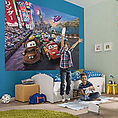 Disney Cars Cars Race Kids Wallpaper Mural 254 x 184cm