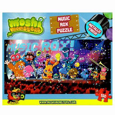 Vivid Imagination Moshi Monsters Music Rox 150 Piece Puzzle