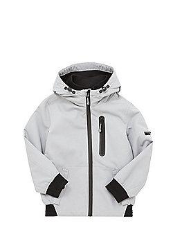 F&F Ripstop Hooded Jacket - Grey