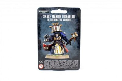 Warhammer Space Marine Librarian In Terminator Armour (New) Model Kit