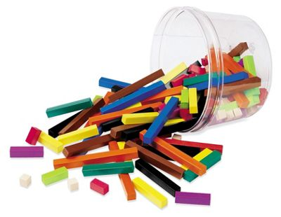 Learning Resources Cuisenaire Rods Small Group Set (155)