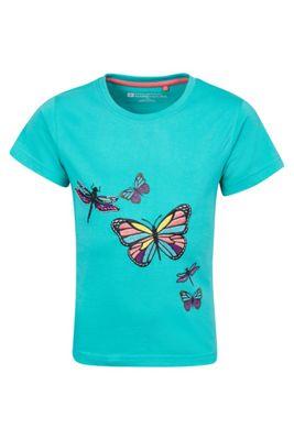 Mountain Warehouse Butterfly Garden Kids Tee ( Size: 3-4 yrs )