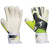 Precision Football Soccer Schmeichology 5 Negative Goalkeeper Gloves - White