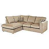 Taunton Left Hand Corner Sofa, Taupe
