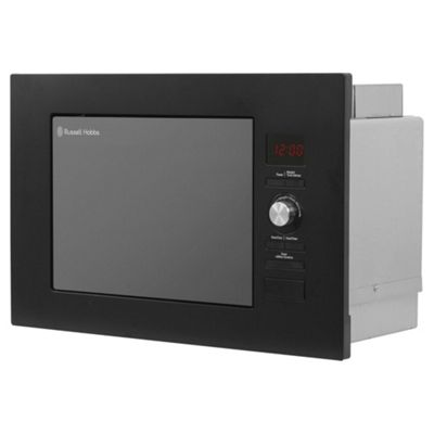 Russell Hobbs RHBM2003MB, Built in 20 Litre Digital Microwave, Black