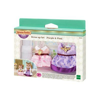 SYLVANIAN Families Dress up Set (Purple & Pink) 6020