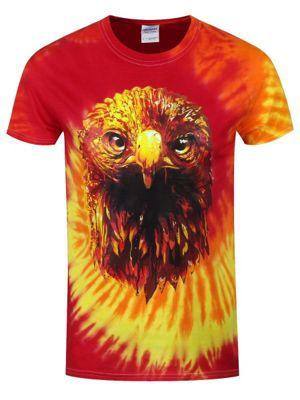 Unorthodox Sunset Eagle Men's Blaze Tie Dye T-Shirt
