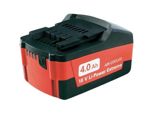 Metabo Slide Battery Pack 18 Volt 4.0Ah Li-Ion
